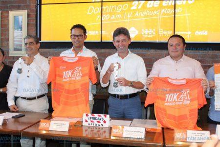 Pablo Gil, invitado de lujo en la Carrera 10K Anáhuac-Finbe