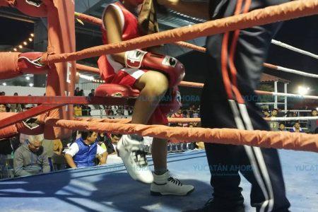 Se luce el box amateur en la Feria de Reyes