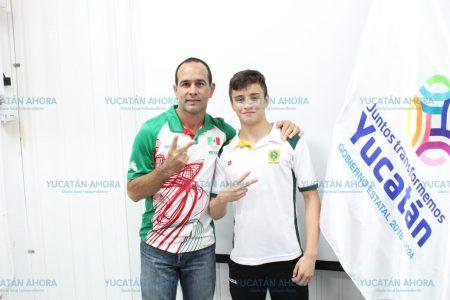 Clavadista yucateco aspira a una medalla en la Olimpiada Nacional 2019