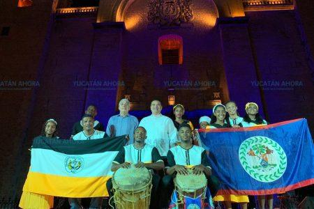 Mérida estrecha lazos de intercambio cultural con Belice