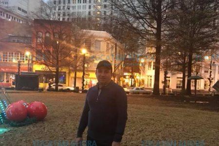 Otro rolandista paseando en Estados Unidos: Walter Salazar en Atlanta