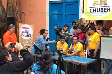Llega Chuber a Mérida: ya afilió a 500 mototaxis