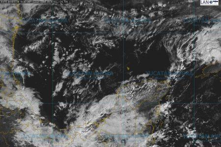 Miércoles de nublados con algunas lluvias en Yucatán