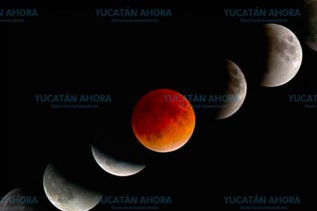 Conoce los horarios del eclipse de Luna de esta noche