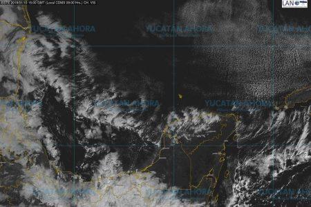 Frente frío comienza a afectar de lleno a Yucatán