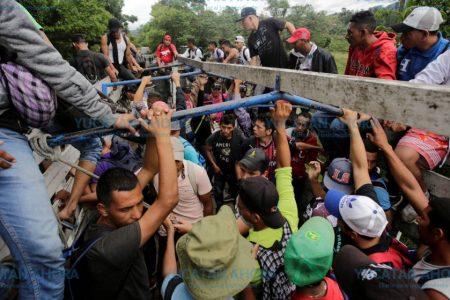 Nulo impacto de la caravana de hondureños en Yucatán
