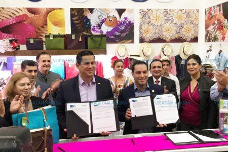 Yucatán y Guanajuato establecen alianza estratégica