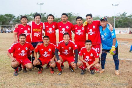 Merengues se corona en la Liga de Fútbol de Segunda Fuerza en Kinchil