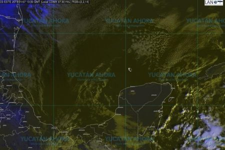 El Periférico norte, la zona más fría de Mérida: 12.8 grados
