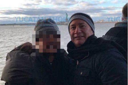 Más de la excursión rolandista: captan a otro del clan en Nueva York
