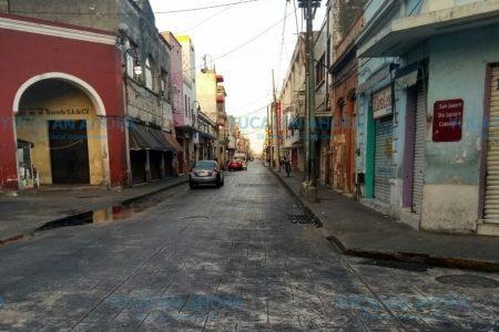 Centro Histórico amanece libre de basura en las primeras horas del 2019