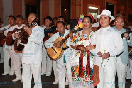 Con tradicional Alborada inician festejos por 477 Aniversario de Mérida