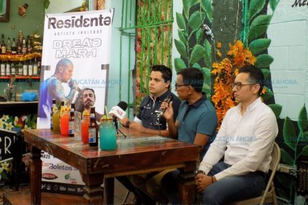 Residente regresa a Mérida con Dread Mar I.