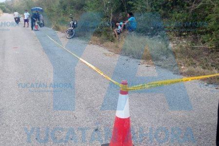 Grave joven motociclista ebrio que se estrelló contra un árbol