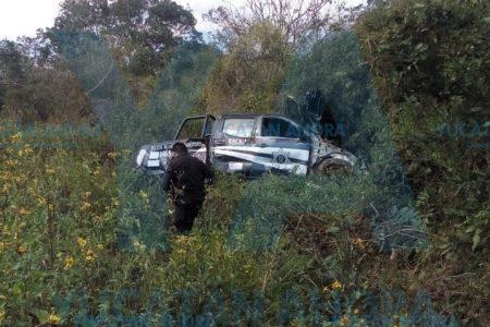 Trágico accidente de policías de Ticul