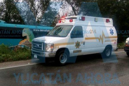 Accidentada visita a Chichén Itza: sa sale del camino autobús turístico