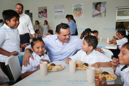 Nuevo comedor escolar en la colonia San José Tecoh