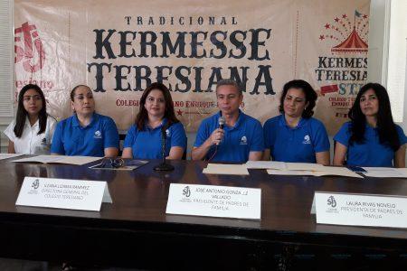 Este sábado 16 de febrero, la tradicional Kermesse Teresiana