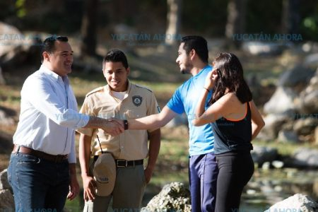Los guardaparques, una mano amiga en espacios públicos de Mérida