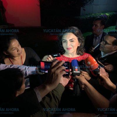 Logro de la militancia, que el INE organice elección del PRI: Ivonne Ortega