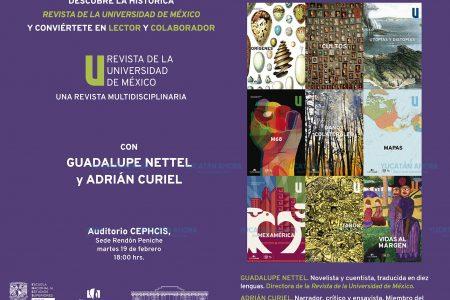 Llega a Mérida la publicación intelectual más antigua de América Latina