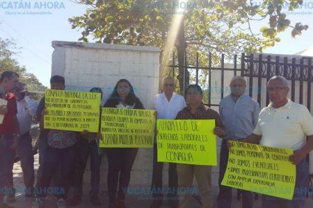 Denuncian despido injustificado 30 trabajadores de Conagua Yucatán