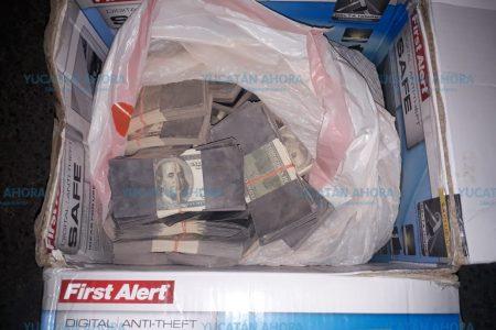 Por transitar a prisas le descubren 'cargamento' de dólares presuntamente falsos