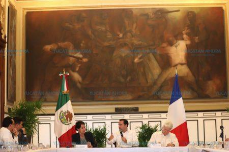 Yucatán y Francia fortalecen lazos de cooperación