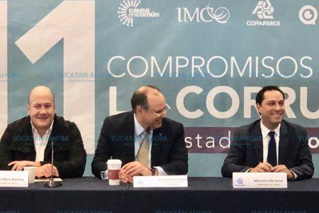 En Yucatán, prioridad al combate frontal de la corrupción y la impunidad