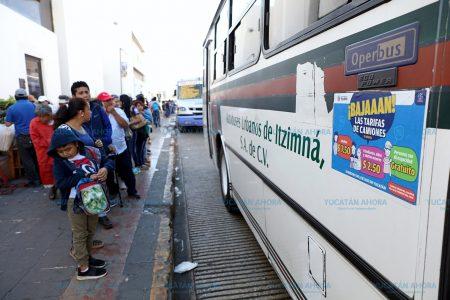 Reducción del pasaje en Mérida, alivio para la economía familiar