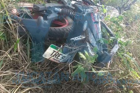 Herido y abandonado en el monte tras accidente en motocicleta