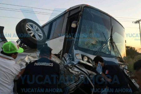 Trágico accidente de turistas en el oriente de Yucatán