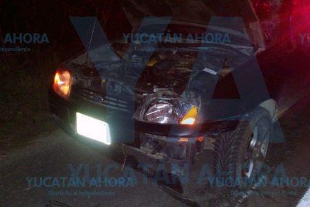 Muere ciclista arrollado por un auto en la carretera Hoctún-Tahmek