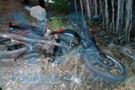 Brutal tragedia en carretera: ebrio despedaza a un motociclista