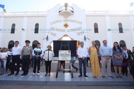Ya es octogenario el Estadio Salvador Alvarado