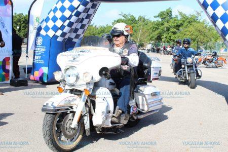 Motociclistas de Yucatán se unen también a la veda del mero