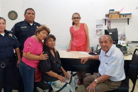 Lado bueno de las redes: ayudan a abuelita extraviada a reencontrar a su familia