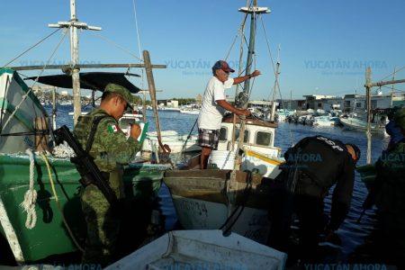 En marcha operativo permanente contra la pesca furtiva en Yucatán
