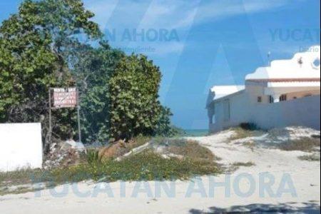 Ayuntamiento de Progreso revocará privatización de calle con acceso al mar