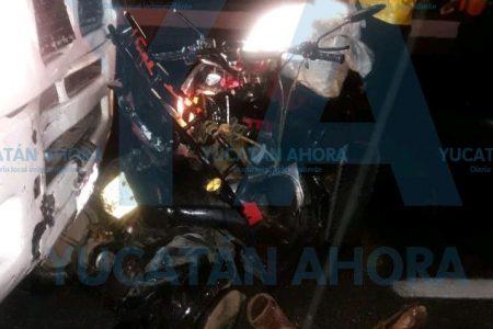 Trágico accidente en medio de la lluvia nocturna
