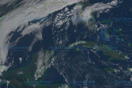 Yucatán, a 37 grados y sin asomo de frente frío