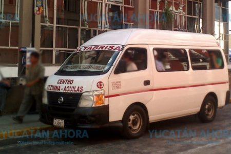 Combis no se suman a rebaja de tarifas: seguirán cobrando ocho pesos