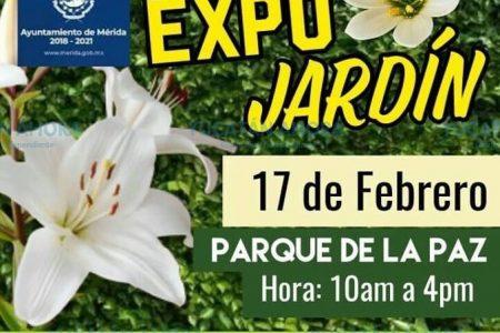 Próxima Expo Jardín en el parque de la Paz