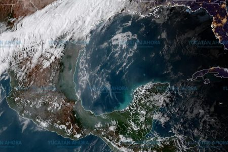 Lluvias anuncian llegada de norte fuerte en la costa de Yucatán