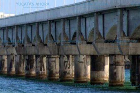 Visible deterioro en viaducto de Progreso que duraría 200 años
