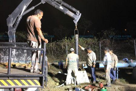 Mejora suministro de agua a vecinos del sur de Mérida