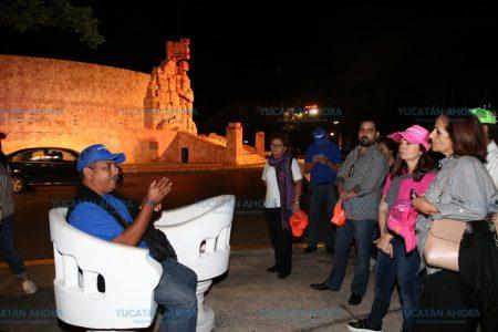 Buena respuesta a recorridos turísticos guiados en el Paseo de Montejo