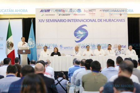 Experiencias refuerzan cultura de prevención de huracanes en Mérida