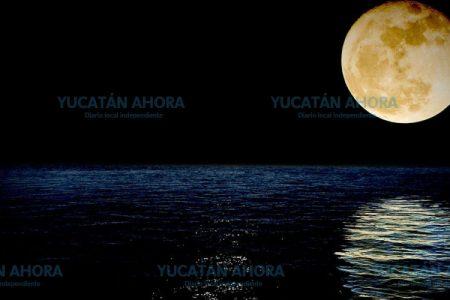 Mareas de Yucatán no se 'espantaron' con la Superluna