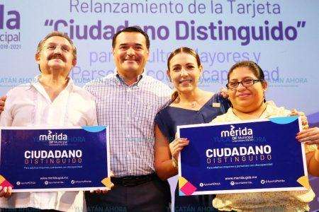 Amplían beneficios de tarjeta 'Ciudadano Distinguido' en Mérida